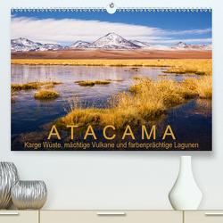 Atacama: Karge Wüste, mächtige Vulkane und farbenprächtige Lagunen (Premium, hochwertiger DIN A2 Wandkalender 2020, Kunstdruck in Hochglanz) von Aust,  Gerhard