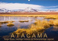 Atacama: Karge Wüste, mächtige Vulkane und farbenprächtige Lagunen (Wandkalender 2018 DIN A2 quer) von Ast,  Gerhard