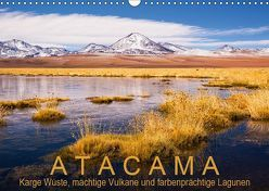 Atacama: Karge Wüste, mächtige Vulkane und farbenprächtige Lagunen (Wandkalender 2019 DIN A3 quer) von Ast,  Gerhard