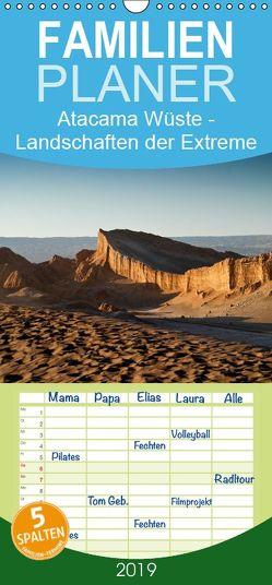 Atacama Wüste – Landschaften der Extreme – Familienplaner hoch (Wandkalender 2019 , 21 cm x 45 cm, hoch) von boeTtchEr,  U