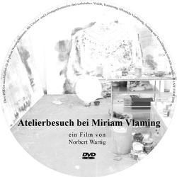 Atelierbesuch bei Miriam Vlaming von Wartig,  Norbert