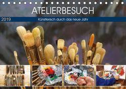 Atelierbesuch (Tischkalender 2019 DIN A5 quer) von Jäger,  Anette/Thomas