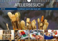 Atelierbesuch (Wandkalender 2019 DIN A4 quer) von Jäger,  Anette/Thomas