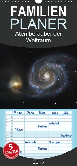 Atemberaubender Weltraum – Familienplaner hoch (Wandkalender 2019 , 21 cm x 45 cm, hoch) von Störmer,  Roland