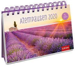Atempausen 2020: Postkarten-Kalender mit separatem Wochenkalendarium von Groh Redaktionsteam