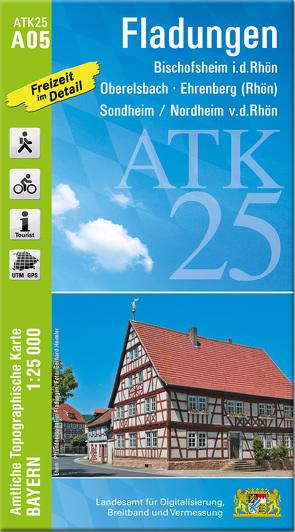 ATK25-A05 Fladungen (Amtliche Topographische Karte 1:25000)