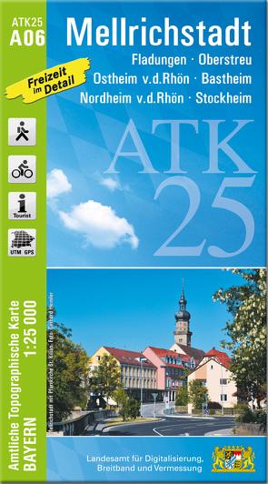 ATK25-A06 Mellrichstadt (Amtliche Topographische Karte 1:25000)