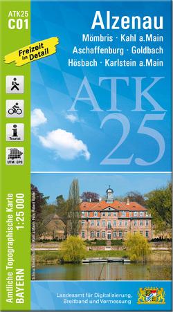 ATK25-C01 Alzenau (Amtliche Topographische Karte 1:25000)