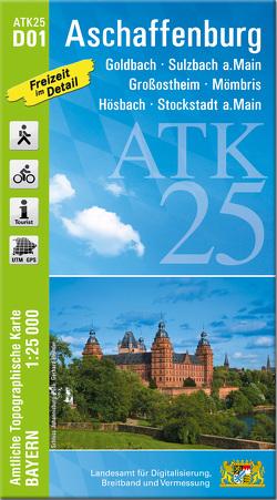 ATK25-D01 Aschaffenburg (Amtliche Topographische Karte 1:25000)