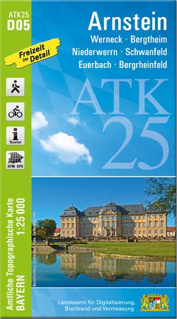 ATK25-D05 Arnstein (Amtliche Topographische Karte 1:25000)