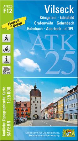 ATK25-F12 Vilseck (Amtliche Topographische Karte 1:25000)