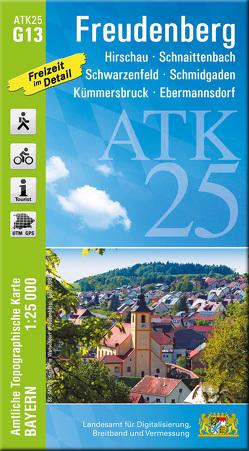 ATK25-G13 Freudenberg (Amtliche Topographische Karte 1:25000)