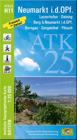 ATK25-H11 Neumarkt i.d.OPf. (Amtliche Topographische Karte 1:25000) von Landesamt für Digitalisierung,  Breitband und Vermessung,  Bayern