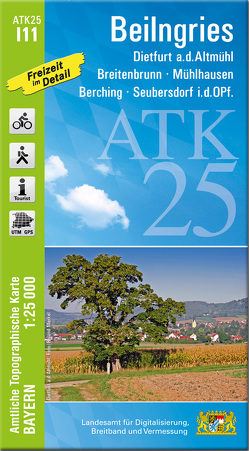 ATK25-I11 Beilngries (Amtliche Topographische Karte 1:25000)