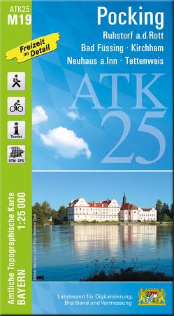 ATK25-M19 Pocking (Amtliche Topographische Karte 1:25000)