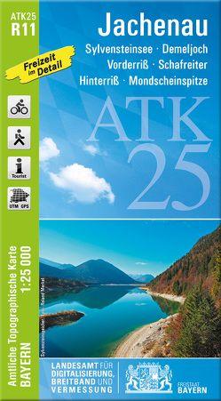 ATK25-R11 Jachenau (Amtliche Topographische Karte 1:25000) von Landesamt für Digitalisierung,  Breitband und Vermessung,  Bayern