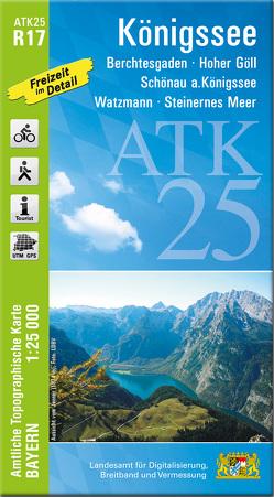 ATK25-R17 Königssee (Amtliche Topographische Karte 1:25000)