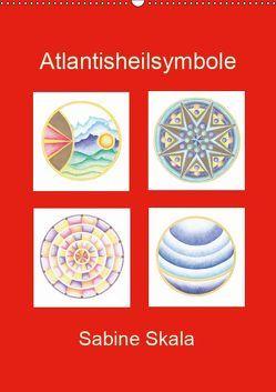 Atlantisheilsymbole (Wandkalender 2019 DIN A2 hoch)