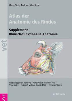 Atlas der Anatomie des Rindes von Buda,  Dr. Silke, Budras,  Klaus-Dieter
