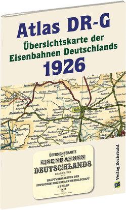 ATLAS DR-G 1926 – Übersichtskarte der Eisenbahnen Deutschlands von Rockstuhl,  Harald
