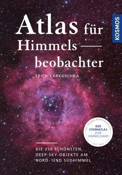 Atlas für Himmelsbeobachter von Karkoschka,  Erich