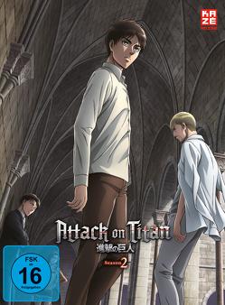 Attack on Titan – 2. Staffel – DVD 2 von Araki,  Tetsuro
