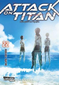 Attack on Titan 22 von Isayama,  Hajime, Peter,  Claudia