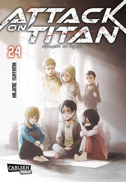 Attack on Titan 24 von Isayama,  Hajime, Peter,  Claudia