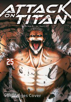 Attack on Titan 25 von Isayama,  Hajime, Peter,  Claudia