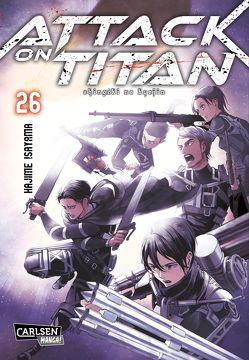 Attack on Titan 26 von Isayama,  Hajime, Peter,  Claudia