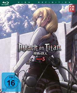 Attack on Titan – 3. Staffel – Blu-ray 2 von Araki,  Tetsuro