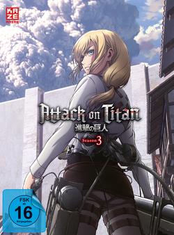 Attack on Titan – 3. Staffel – DVD 2 von Araki,  Tetsuro