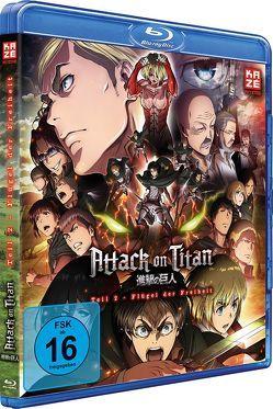 Attack on Titan – Anime Movie Teil 2: Flügel der Freiheit – Blu-ray von Araki,  Tetsuro