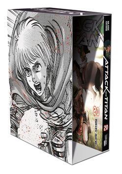 Attack on Titan, Band 20 im Sammelschuber mit Extra von Isayama,  Hajime, Peter,  Claudia