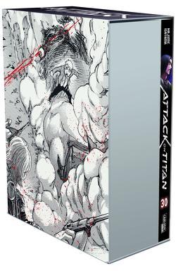 Attack on Titan, Band 30 im Sammelschuber mit Extra von Isayama,  Hajime, Peter,  Claudia
