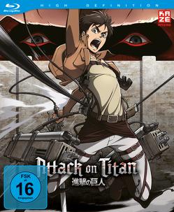 Attack on Titan – Blu-ray Box 1 – Limited Edition von Araki,  Tetsuro