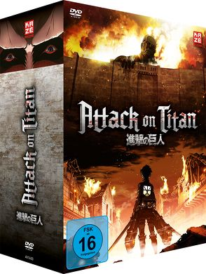 Attack on Titan – DVD 1 + Sammelschuber (Limited Edition) von Araki,  Tetsuro