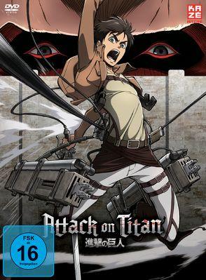 Attack on Titan – DVD 1 von Araki,  Tetsuro
