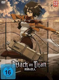Attack on Titan – DVD 2 (Limited Edition) von Araki,  Tetsuro