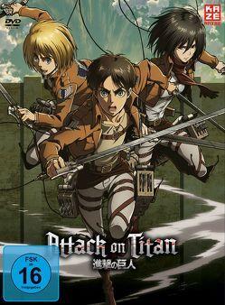 Attack on Titan – DVD 4 – LE Digipack ohne Aufnäh. von Araki,  Tetsuro