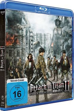 Attack on Titan II – End of the World – Blu-ray von Higuchi,  Shinji