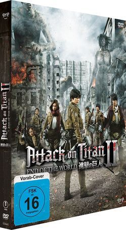 Attack on Titan II – End of the World – DVD von Higuchi,  Shinji