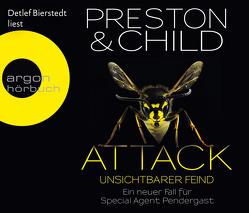 Attack – Unsichtbarer Feind von Benthack,  Michael, Bierstedt,  Detlef, Child,  Lincoln, Preston,  Douglas
