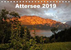 Attersee im Salzkammergut 2019AT-Version (Tischkalender 2019 DIN A5 quer) von Andy1411