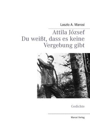 Attila József – Du weißt, dass es keine Vergebung gibt von Marosi,  Laszlo A.