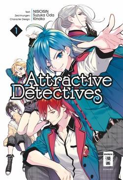 Attractive Detectives 01 von Höfler,  Burkhard, NISIOISIN, Oda,  Suzuka
