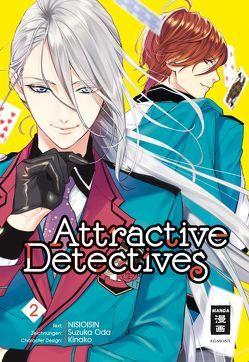 Attractive Detectives 02 von Höfler,  Burkhard, NISIOISIN, Oda,  Suzuka