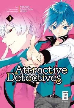 Attractive Detectives 03 von Höfler,  Burkhard, NISIOISIN, Oda,  Suzuka
