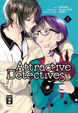 Attractive Detectives 04 von Höfler,  Burkhard, NISIOISIN, Oda,  Suzuka