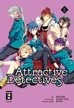 Attractive Detectives 05 von Höfler,  Burkhard, NISIOISIN, Oda,  Suzuka